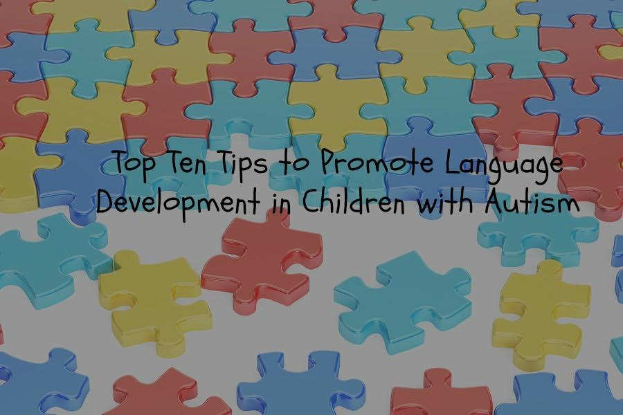 Ten Top Tips for Promoting Language in Children with Autism