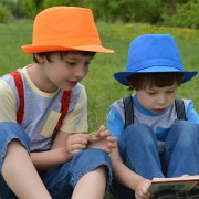 two boys reading (1)
