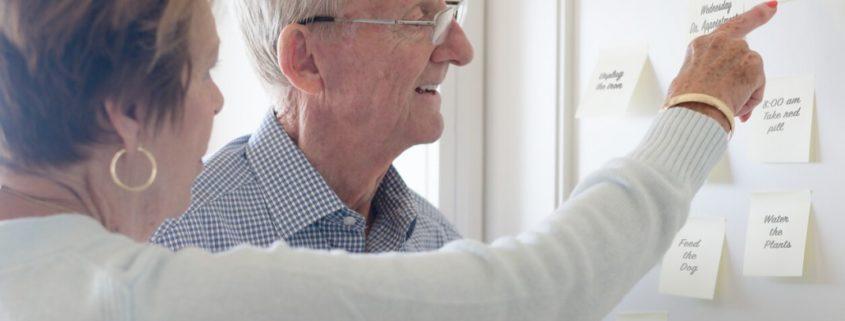 a man using memory card to treat dementia