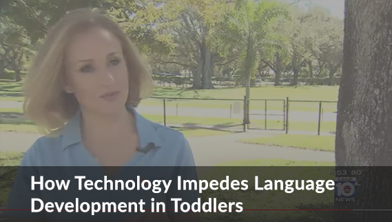 YouTube Video about how technology impedes language development in toddlers