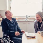 a father learning to speak after a traumatic brain injury