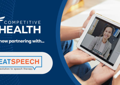 Competitive Health Partners with Great Speech to Add Speech Therapy Services Expanding Telehealth Offerings