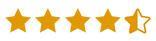 4.5 stars review